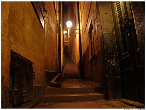 GamlaStan Narrow Ways & Stairs