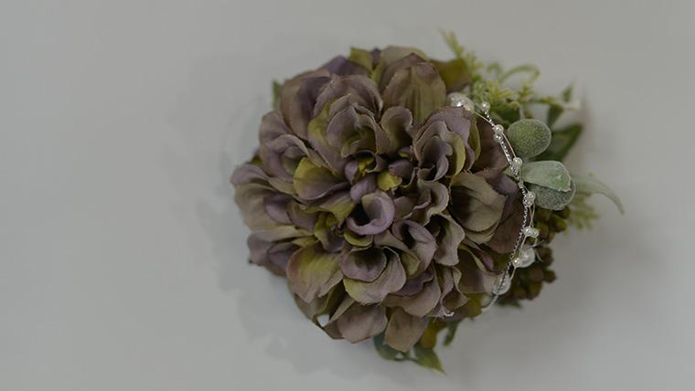 造花 コサージュ