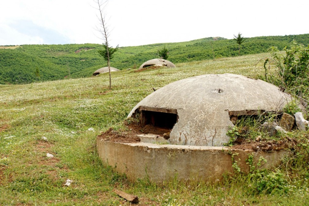 Protecting the fatherland: bunkers of Albania