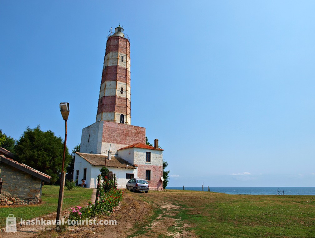 150 years of red and white glory: see the oldest lighthouse in Bulgaria