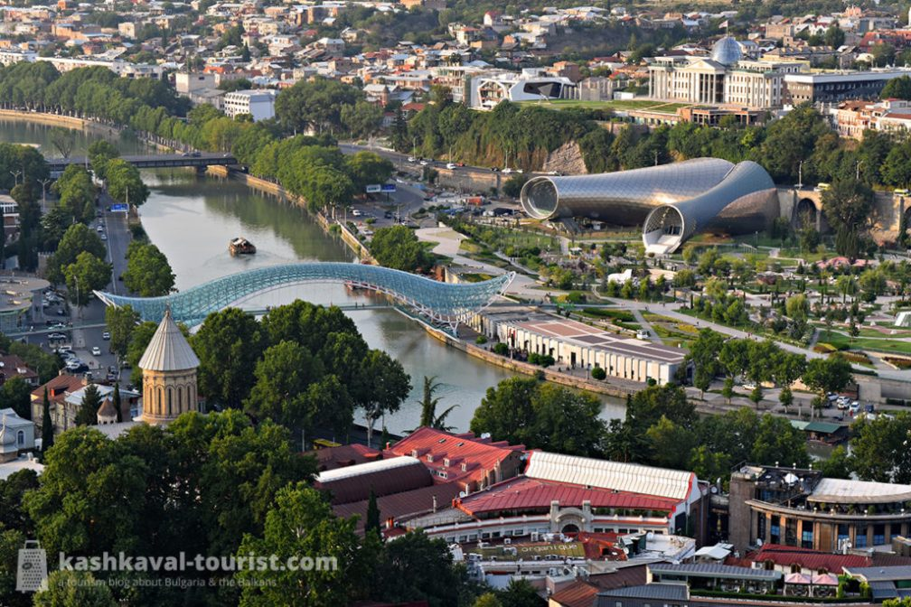 Crossroads of Eurasian past and future: Tbilisi