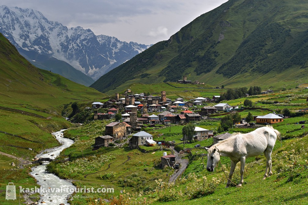 Europe's version of Middle-Earth: Upper Svaneti