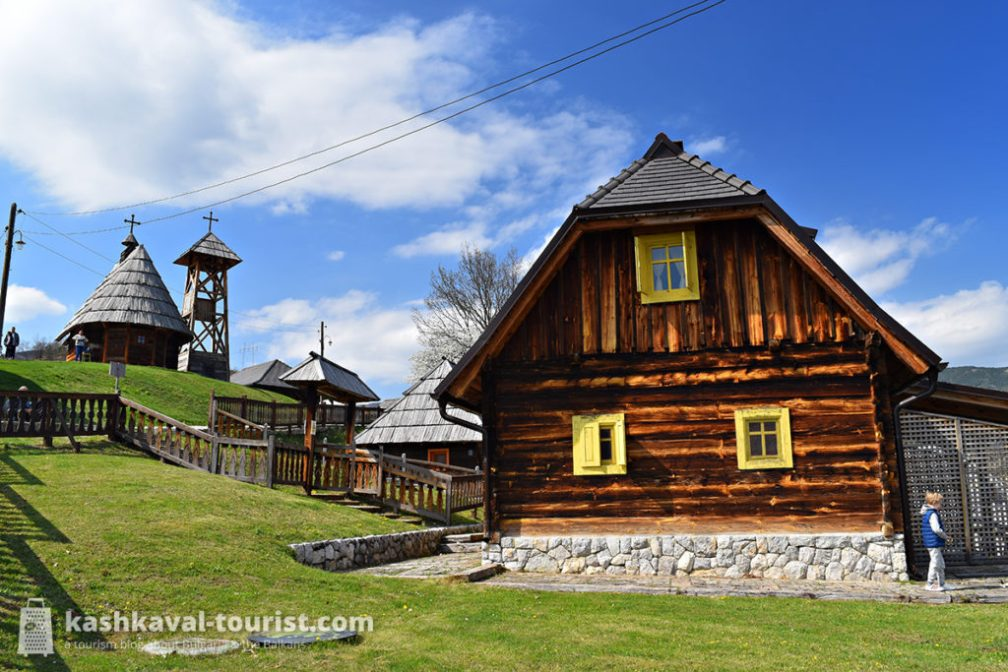 Travel into the past in Kusturica's Timber Town: Drvengrad