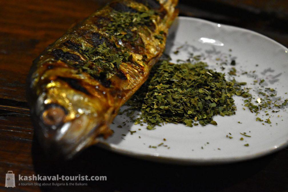 Fisherman's friend: lovage (devesil)