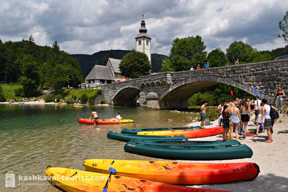 Grandiose glacial purity: be active at Lake Bohinj