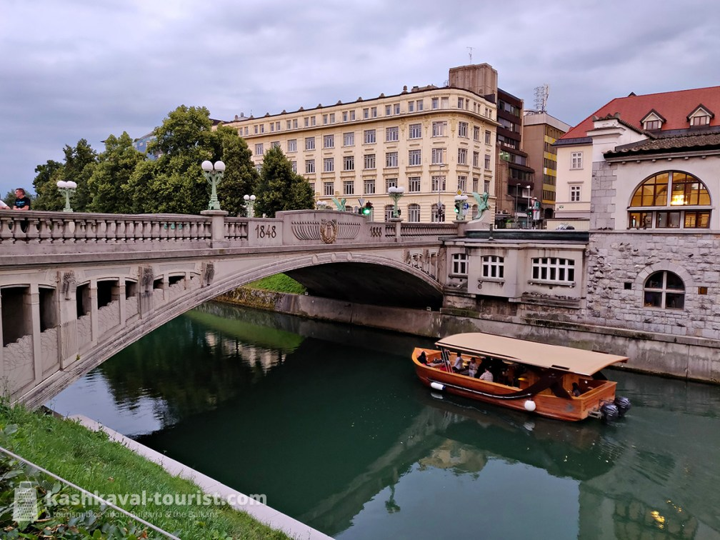 A canal cruise on the pristine Ljubljanica is a great way to enjoy the city