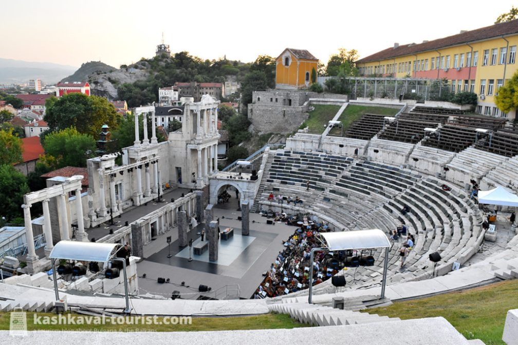 Plovdiv's Ancient Theatre