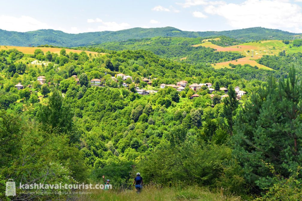 There's no shortage of off-road mountain biking options in the Balkan Mountains, many with breath-taking vistas