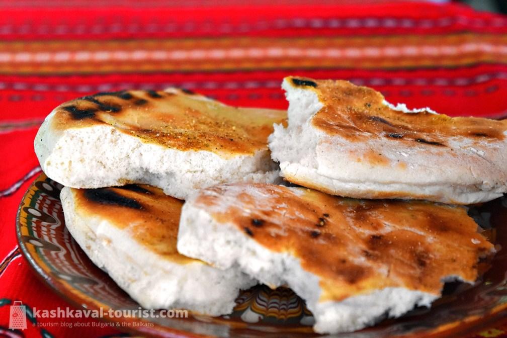 Singe your bread: parlenka (пърленка)