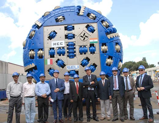 Sophisticated Tunnel Boring Machine (TBM) tunneled 14.75 kms from Bandipore side.