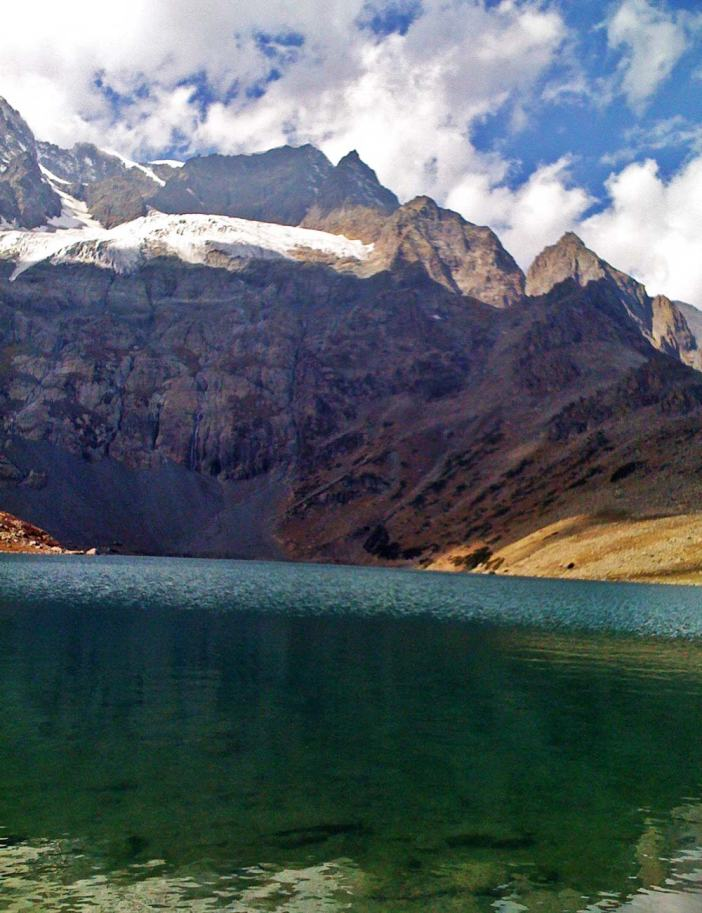 The lake water outflows to a nearby Nundkol Lake and then via Wangath nallah to Sind River.