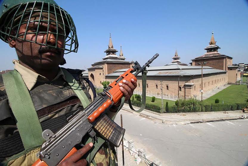 Image result for Srinagar Jamia Masjid Denounced