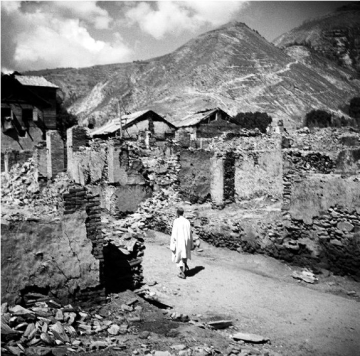 Baramulla after the 1947 tribal raids, a UN photo of January 1, 1948