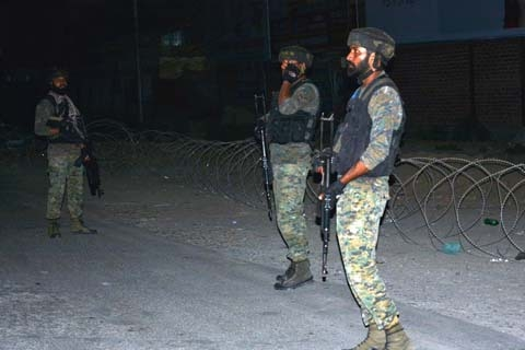 Encounter Started At Yamrach Yaripora Area Of Kulgam District, Two To Three Militants Believed To Be Trapped