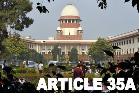 Article 35A Hearing Adjourned Till January 2019 By Supreme Court