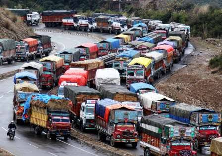 Kashmir Highway Through For Civilian Traffic As No Convoy Movement For Today