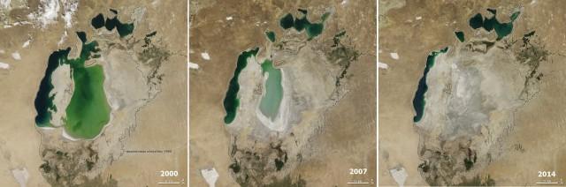 Аральское море 2014