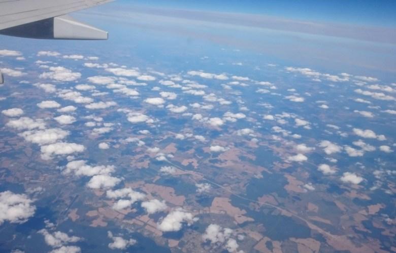 В небе над Польшей