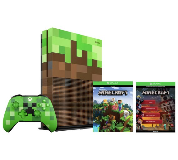 Xbox One S 1TB Minecraft Limited Edition Forza 7 Or Yooka Laylee 10 Voucher 28999 At