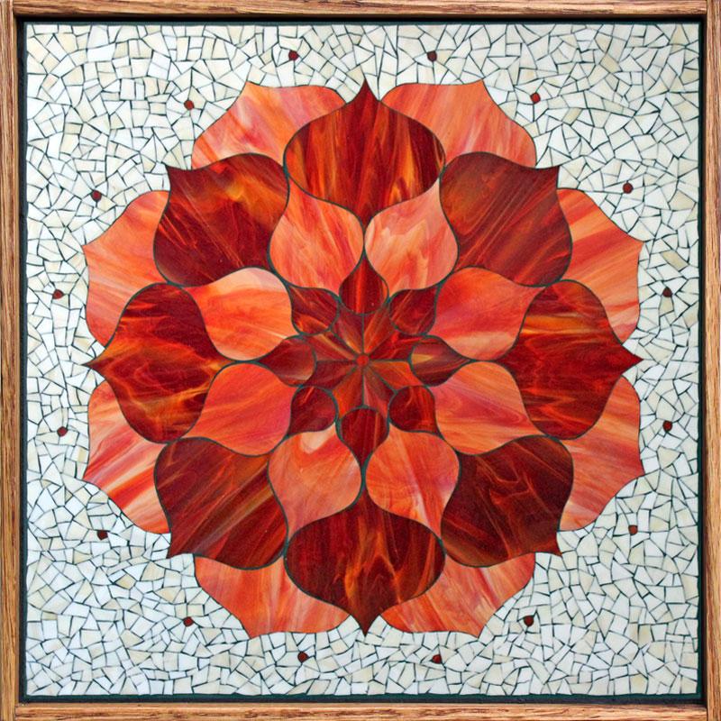 Red lotus flower kasias art shop red lotus flower mightylinksfo