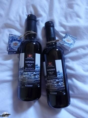 Lotniskowe wino / Vino regalado en el aeropuerto