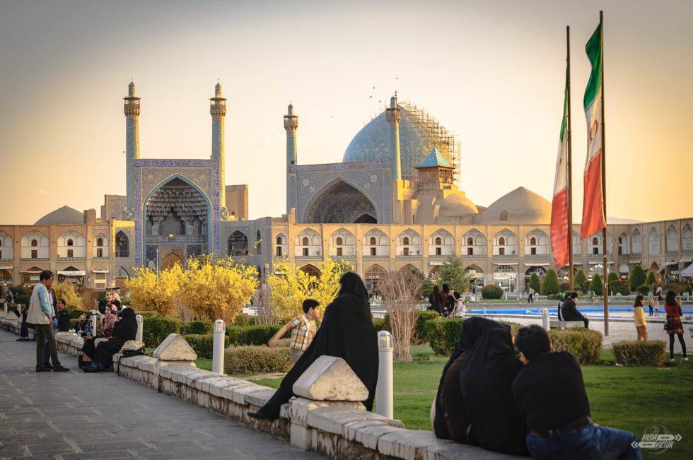 Isfahan, Plac Naqsh-e Jahan