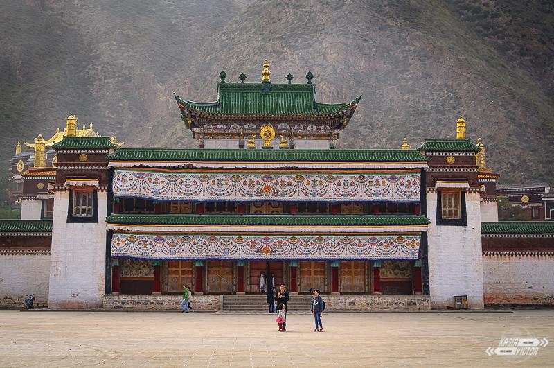 Klasztor Labrang. Pukając Do Tybetu Bram