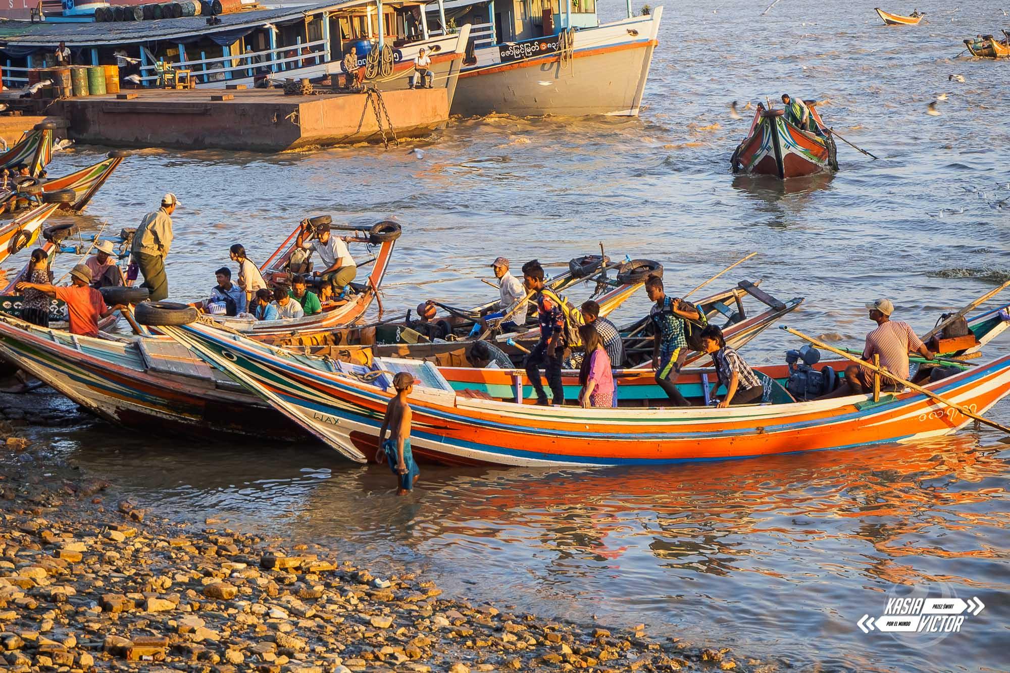 Rangún. Primera Impresión De Birmania