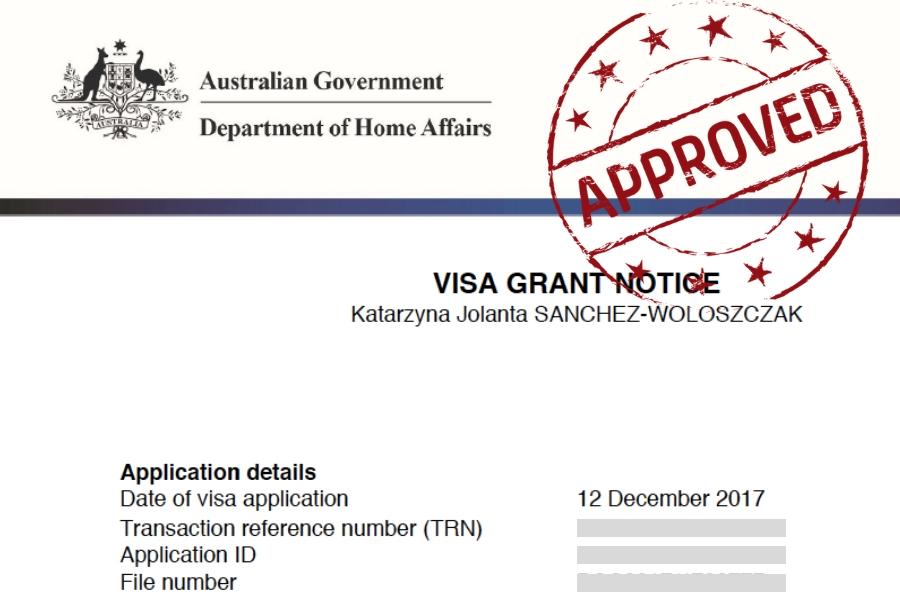 visado de estudiante en Australia