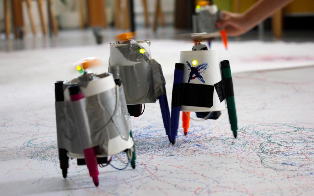 Käsityökoulu Robotin OPEN DAY-pajat Kaupunkiverstaalla – Syksy 2015