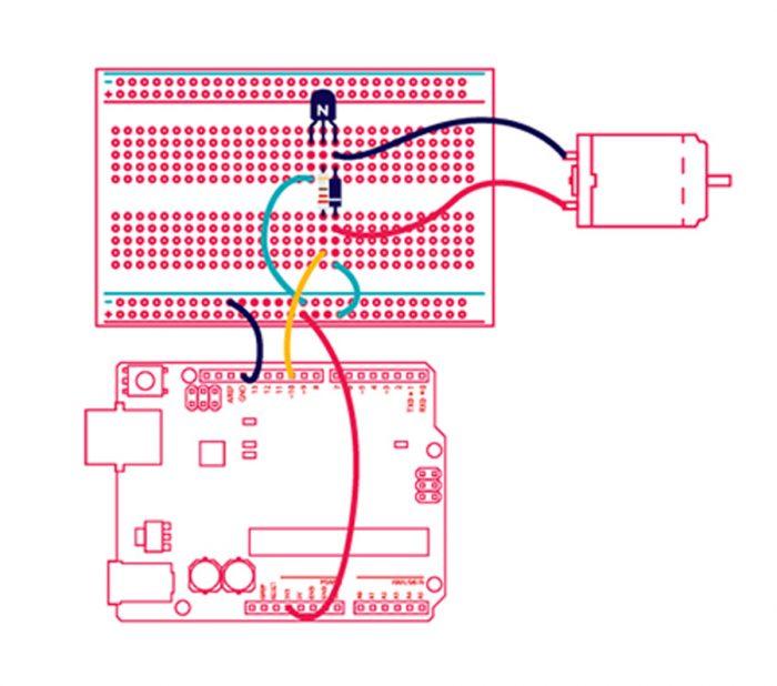 Ohjelmoitava sähkömoottori