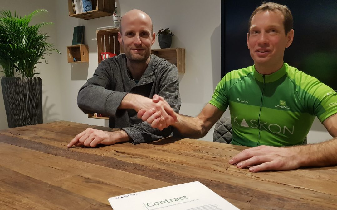 Ronald de Jong nieuwe aanwinst Kaskon Cycling Team