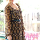 silk dress 104 degrees speech judge 4-h daily outfit blog ootd whatiwore2day