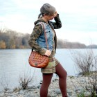 denim vest over hoodie daily outfit blog whatiwore2day ootd