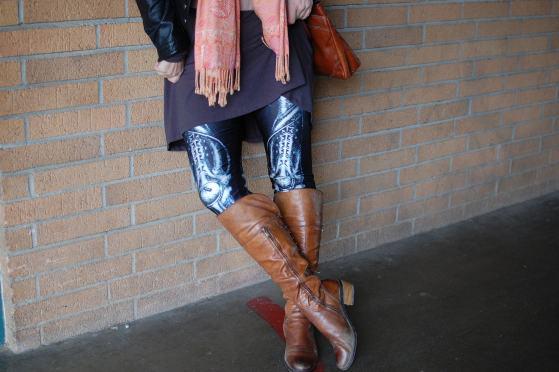 skeleton leggings daily outfit blog whatiwore2day ootd