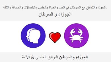 Photo of الجوزاء التوافق مع السرطان في الحب والحياة والجنس والاتصالات والصداقة والثقة