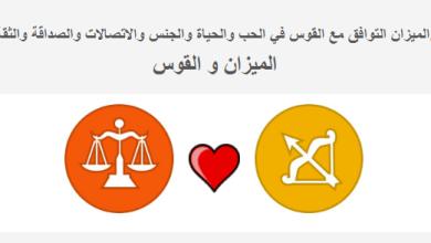 Photo of الميزان التوافق مع القوس في الحب والحياة علامات القوس مع الميزان