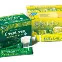 Hollywood グリーングリーン&抹茶レモン粉末タイプの青汁ドリンクと、抹茶を使ったリフレッシュドリンクです。個包装も一緒にデザんしています。DR:折戸藍、AD&D加藤才智