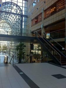 Fitness World smukt beliggende i Scandinavian Center, Aarhus