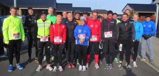 Startfeltet ved Fredskov Marathon - Ellebæk Marathon - Lånt fra www.annettefredskov.dk