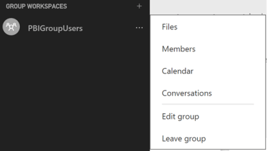 Disable Power BI Workspace or group creation for certain users or groups