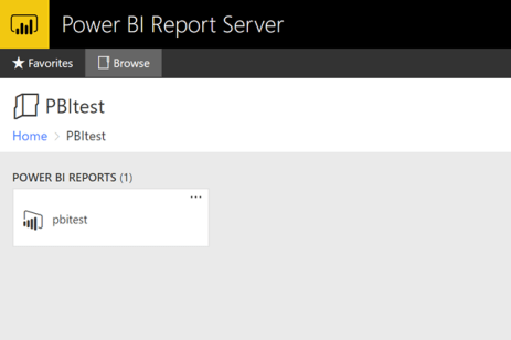 Embedding Power BI Reports with Power BI Report Server