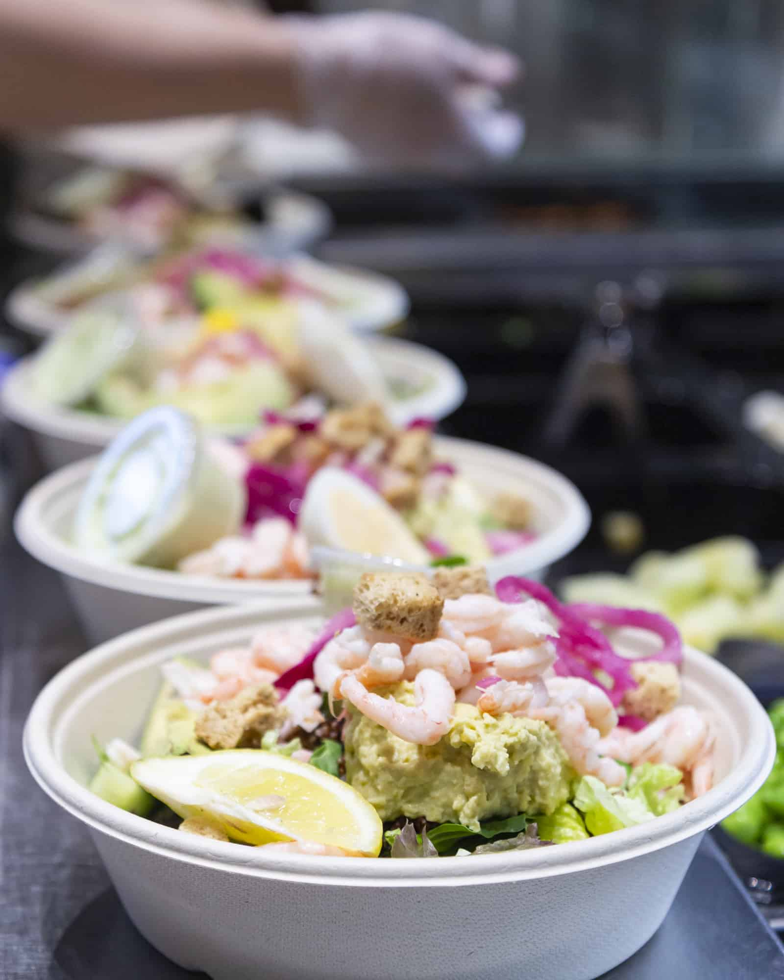 Salads and Smoothies sallader