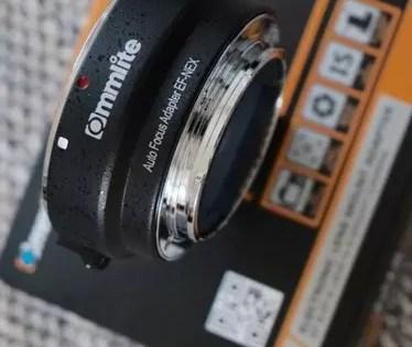 Commlite Auto Focus EF-NEX FX Lens Mount Adapter