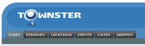 Townster Header &  Navigation
