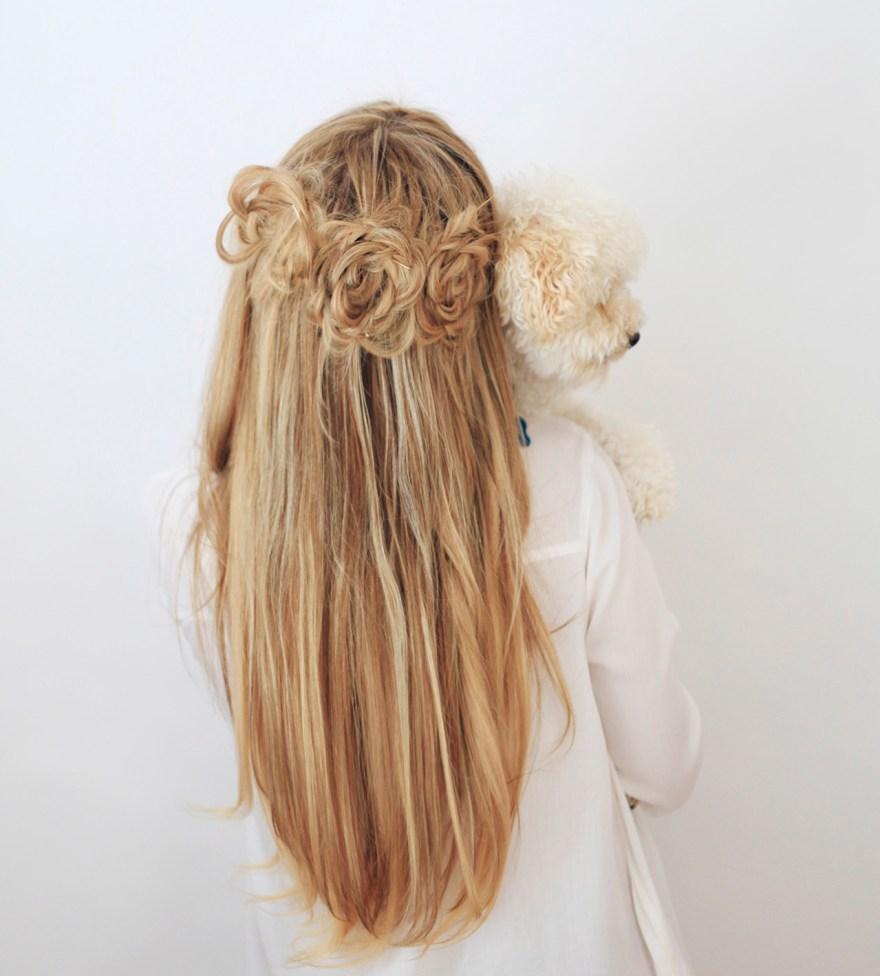 flower-braids-cute-puppy-dog-lover