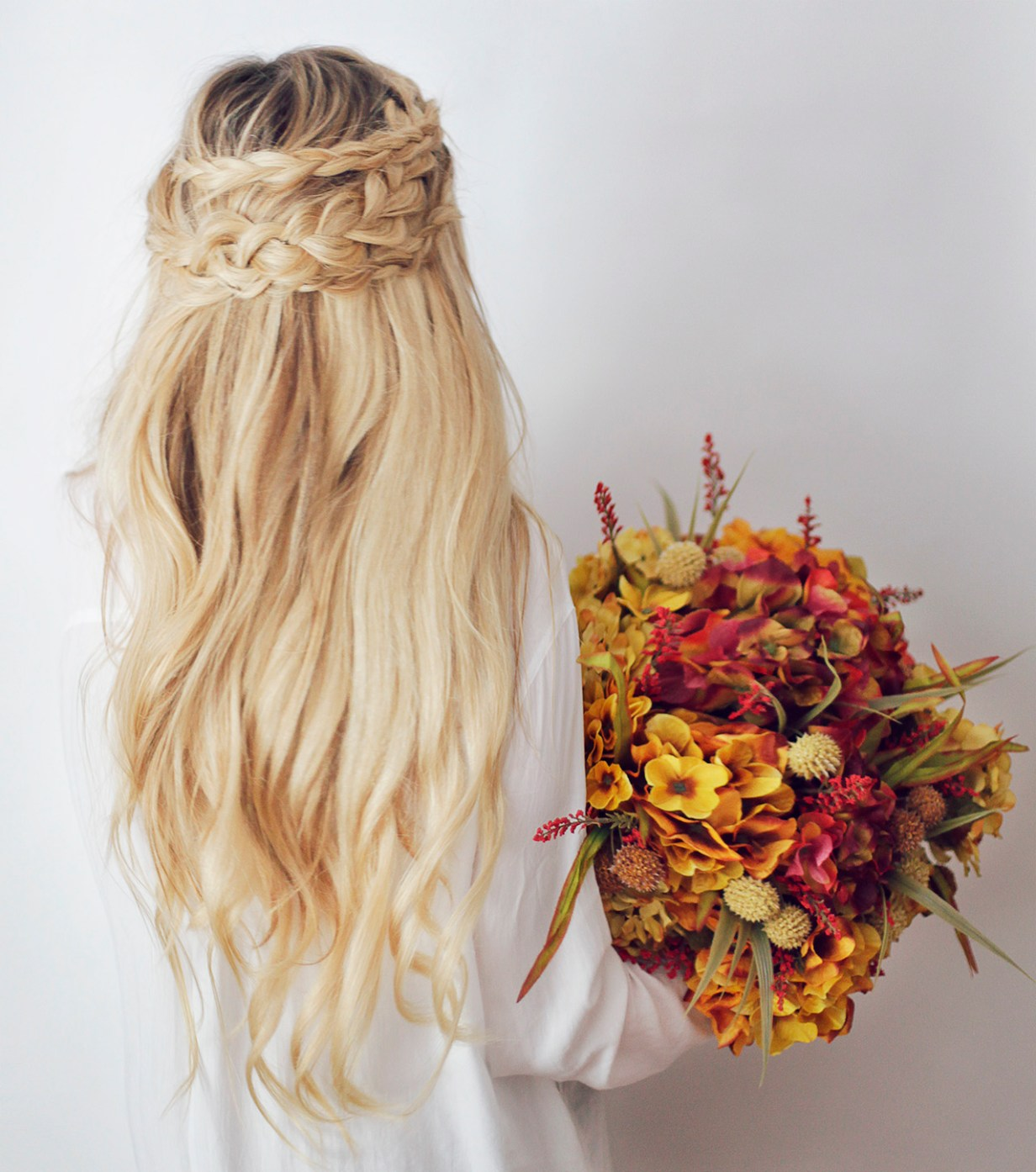 Wedding Hairstyles Boho: Bohemian Wedding Ideas