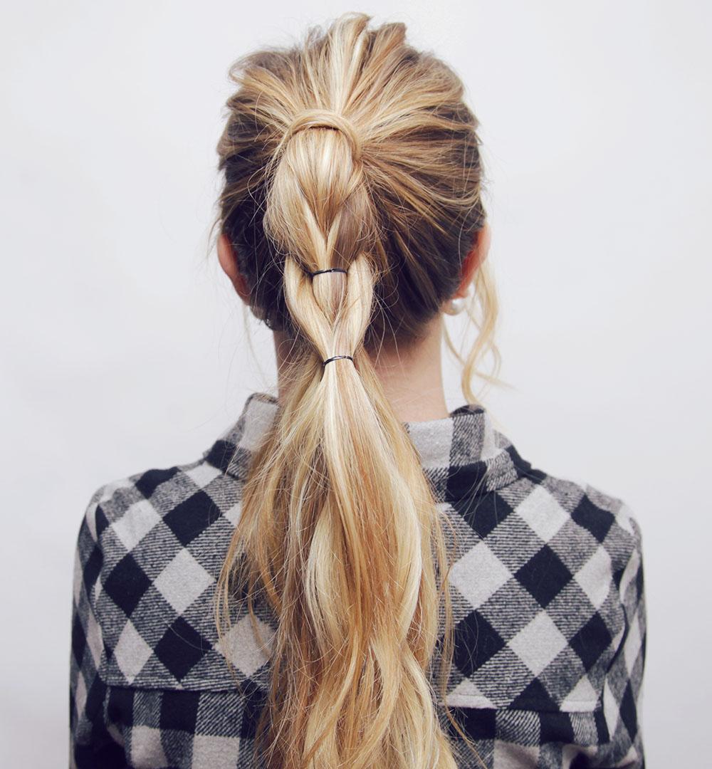 Pull Through Braid Hair Tutorial \u2013 Kassinka