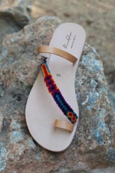 Sandal designer Elina Lebessi represented by Maria Kastani showroom in London