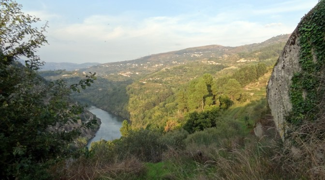 Herbst am Douro in Portugal